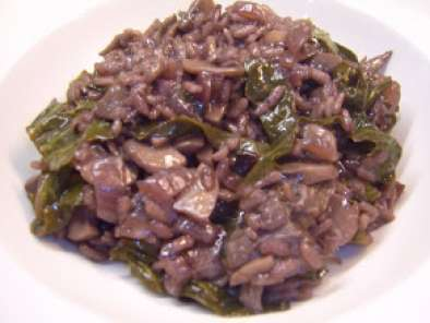 Recipe Duck and red wine risotto