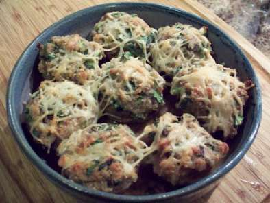 Recipe Stuffed mushrooms a la france