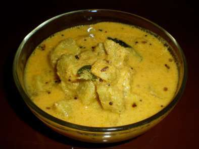 Recipe Koorka gashi or koorka curry ( with coconut paste )