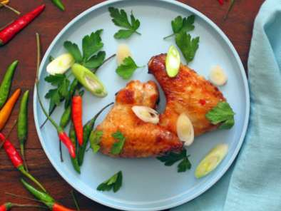 Recipe Thai bird chili wings, please pass the napkins