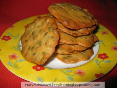 Recipe Pumpkin seeds crisps (tuiles)