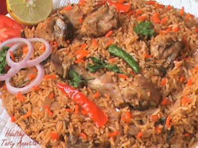 Recipe Hyderabadi chicken biryani