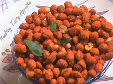 Recipe Hot and spicy masala peanuts