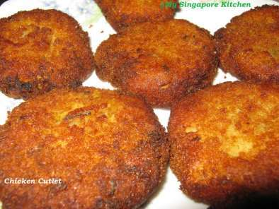 Recipe Chicken cutlets