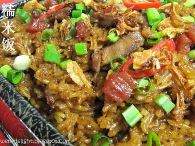 Recipe Savoury glutinous rice