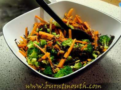 Recipe Japanese seaweed carrot salad