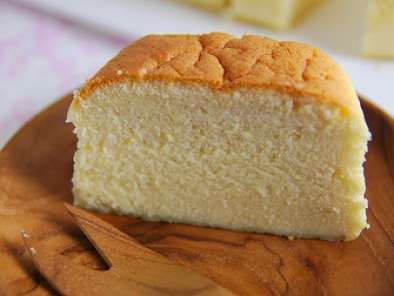 Recipe Japanese cheesecake - coffee flavour