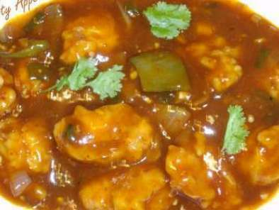 Recipe Spicy chilly chicken gravy