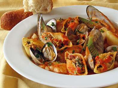 Recipe Cioppino & pasta best of both worlds