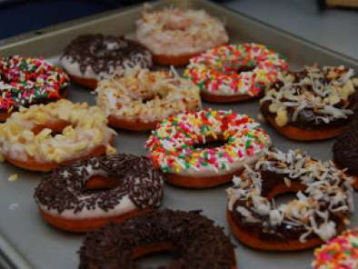 Recipe Homemade cake doughnuts / donuts