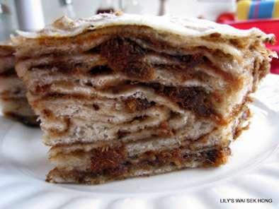 Recipe Steamed thousand layer cake