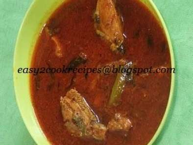 Recipe Spicy pomfret fish curry
