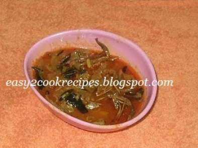 Recipe Vazhaipoo kulambu / banana flower curry