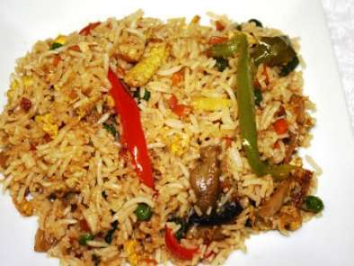 Recipe Schezwan fried rice