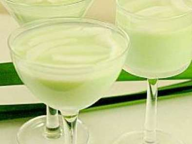 Recipe Pandan coconut panna cotta