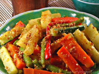 Recipe Pickled vegetables/acar awak