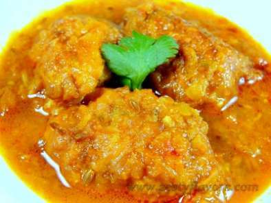 Recipe Bottle gourd kofta curry (lauki/ghiya kofta curry)
