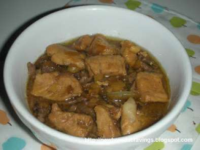 Recipe Pork hamonado