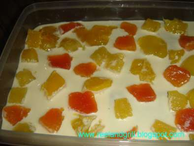 Recipe Refrigerated cake - no bake cake