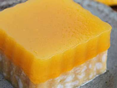 Recipe Thai coconut mango jelly