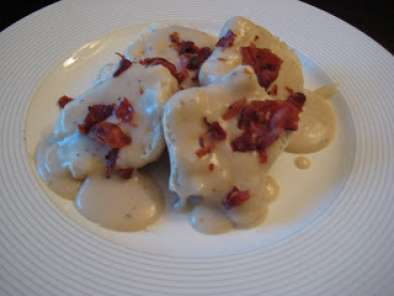Recipe Paula deen's lean: homestyle chicken and bacon gravy