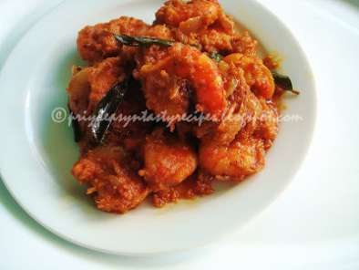 Recipe Royallu mudda kura /prawn curry - t&t from sailu's kitchen