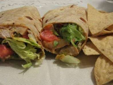Recipe Buffalo chicken wraps