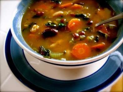 Recipe Fabulous five bean soup