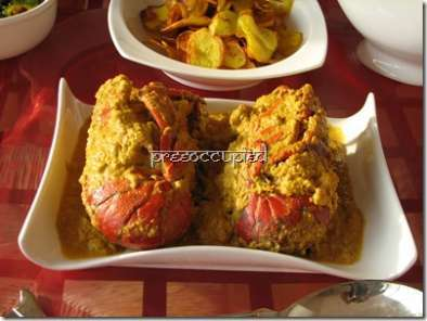 Recipe Maha lobster malaikari