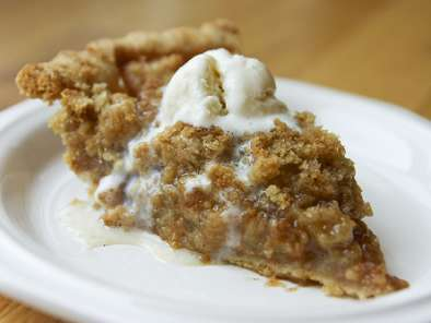 Recipe Apple crumble pie