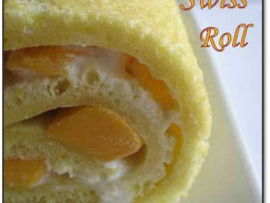 Recipe Mango swiss roll