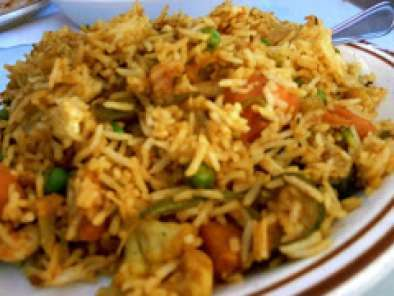 Recipe Veg pulao with coconut milk