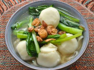 Recipe Fishball noodles