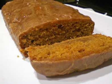 Recipe Sweet melissa sundays: sweet potato bread with cinnamon glaze