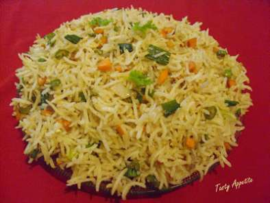 Recipe Veg fried rice