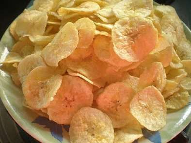 Recipe Raw banana chips ( nenthirangai chips)