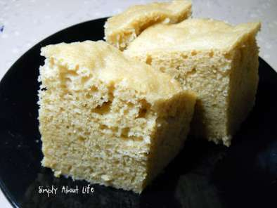 Recipe Chinese steamed sponge cake