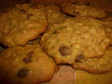 Recipe Banana oatmeal & chocolate chip cookies