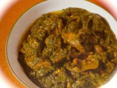 Recipe Alu methi and gosht ( fenugreek leaves with mutton )