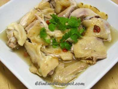 Recipe Steamed chicken with dong quai & wolfberries