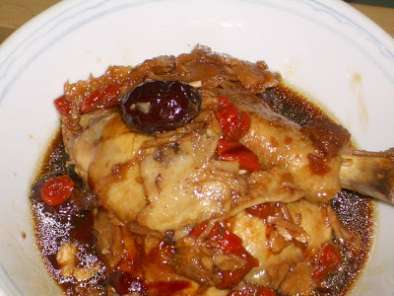 Recipe Baked chinese herbal chicken