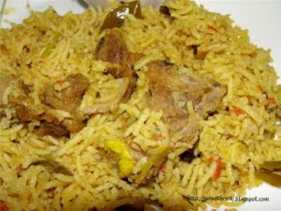 Recipe Mutton biryani