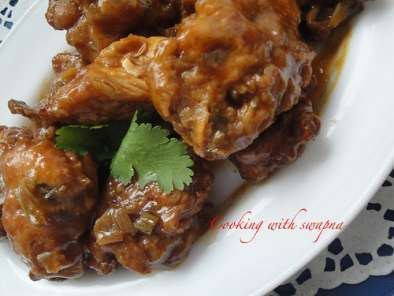 Recipe Indo-chinese chicken manchurian