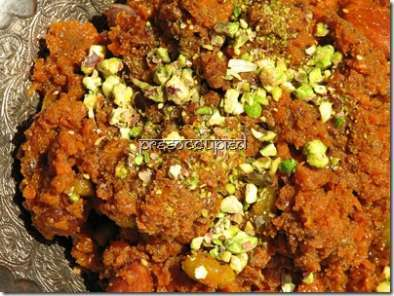 Recipe Rio ate the gajar-ka-halwa!