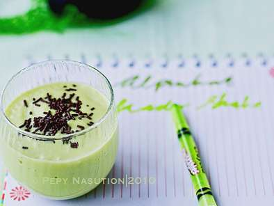Recipe Jus alpukat - indonesian avocado blended/shake