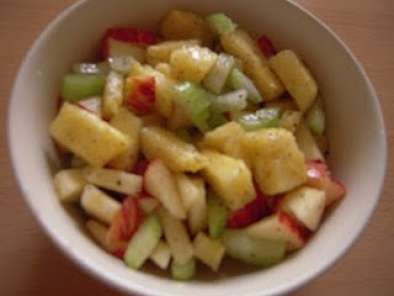 Recipe Apple celery and pineapple salad