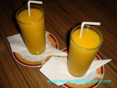 Recipe Mango shake or smoothies