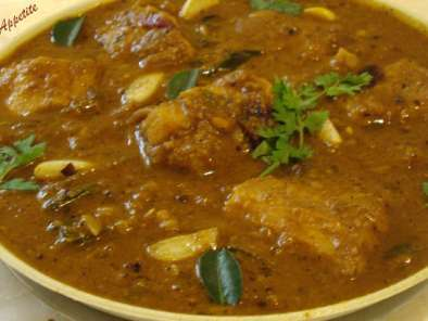 Recipe Sura meen kuzhambu: (shark curry )