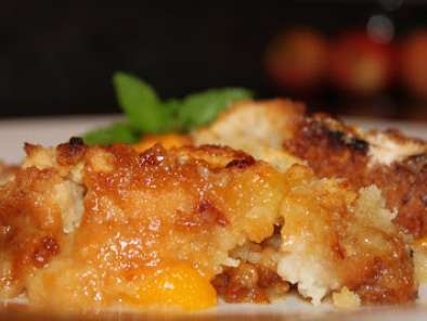Recipe Easy peach cobbler, the secret's out!