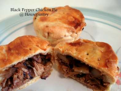 Recipe Black pepper chicken pie